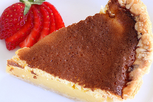 sliice of chess pie